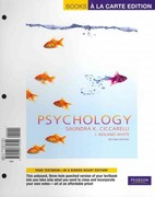 Psychology, Books a la Carte Edition 2nd edition 9780205771820 0205771823