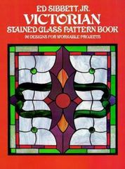 Victorian Stained Glass Pattern Book 0 9780486238111 0486238113