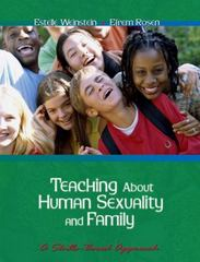 Teaching About Human Sexuality and Family: A Skills Based Approach 1st Edition 9780534635763 0534635768