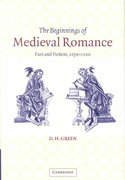 The Beginnings of Medieval Romance 1st edition 9780521049566 0521049563