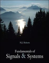 Fundamentals of Signals and Systems 0th edition 9780073404547 0073404543