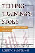 Telling Training's Story 1st Edition 9781605093871 1605093874