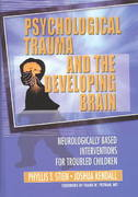 Psychological Trauma and the Developing Brain 1st Edition 9781317787884 1317787889