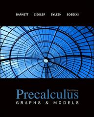 Precalculus: Graphs and Models 3rd edition 9780077384876 0077384873