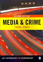 Media & Crime 2nd Edition 9781848607033 1848607032