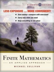 Finite Mathematics 11th Edition 9781118050255 1118050258