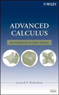 Advanced Calculus 1st Edition 9780470232880 0470232889