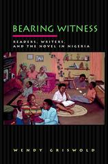 Bearing Witness 1st Edition 9780691058290 0691058296