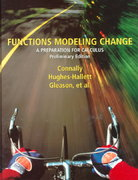 Functions Modeling Change 1st edition 9780471317876 047131787X