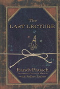 The Last Lecture 1st Edition 9781410407115 141040711X