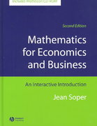 Mathematics for Economics and Business 2nd edition 9781405111263 1405111267