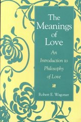 The Meanings of Love 1st Edition 9780275958404 027595840X