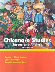 Chicano Studies 3rd Edition 9780757541155 0757541151