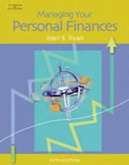 Managing Your Personal Finances 5th edition 9780538441759 0538441755