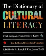 The Dictionary of Cultural Literacy 2nd edition 9780395655979 0395655978