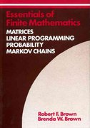 Essentials of Finite Mathematics 0 9780912675787 0912675780