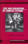 Test and Evaluation of Complex Systems 1st edition 9780471967194 047196719X