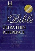 KJV Ultrathin Reference Bible 0 9780879819248 0879819243