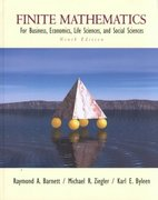 Finite Mathematics for Business, Economics, Life Sciences and Social Sciences 9th edition 9780130338402 0130338400