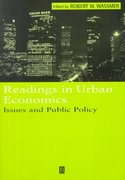 Readings in Urban Economics 1st edition 9780631215882 0631215883