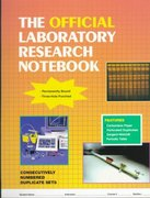 The Official Laboratory Research Notebook 1st edition 9780763709044 0763709042