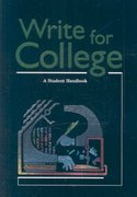 Write for College 2nd Edition 9780669000313 0669000310