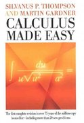 Calculus Made Easy 4th Edition 9780312185480 0312185480