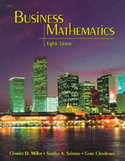 Business Mathematics 8th edition 9780321045034 0321045033