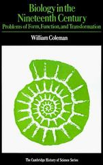 Biology in the Nineteenth Century 2nd edition 9780521292931 052129293X
