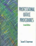Professional Office Procedures 2nd edition 9780139795763 0139795766