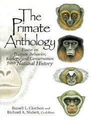 The Primate Anthology 1st edition 9780136138457 0136138454