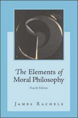 The Elements of Moral Philosophy 4th edition 9780072476903 0072476907