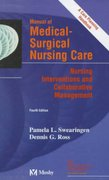 Manual of Medical-Surgical Nursing 4th edition 9780815127444 0815127448