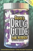 Davis's Drug Guide for Nurses 7th edition 9780803605831 0803605838