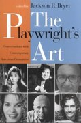 The Playwright's Art 0 9780813521299 0813521297