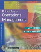 Principles of Operations Management 4th edition 9780130271471 0130271470