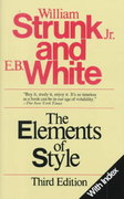 Elements of Style 3rd edition 9780024181909 0024181900
