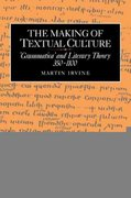 The Making of Textual Culture 0 9780521031998 0521031990