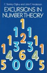 Excursions in Number Theory 0 9780486257785 0486257789