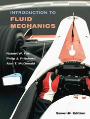 Introduction to Fluid Mechanics 7th Edition 9780471742999 0471742996
