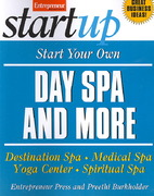 Start Your Own Day Spa and More 1st edition 9781599181226 1599181223