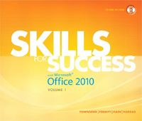 Skills for Success with Microsoft Office 2010, Volume 1 1st edition 9780137032570 0137032579