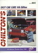 Easy Car Care 4th Edition 9780801988523 0801988527