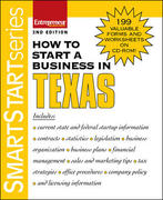 How to Start a Business in Texas 2nd edition 9781599180694 1599180693