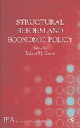Structural Reform and Economic Policy 0 9781403936462 1403936463