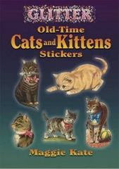 Glitter Old-Time Cats and Kittens Stickers 0 9780486449272 0486449270
