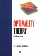Optimality Theory 1st Edition 9780631202264 0631202269