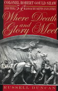 Where Death and Glory Meet 1st Edition 9780820321363 0820321362
