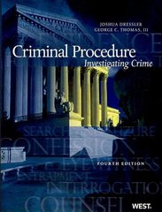 Criminal Procedure 4th edition 9780314202772 0314202773
