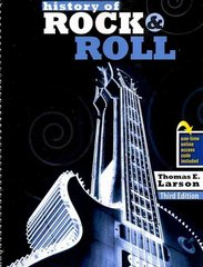 History of Rock and Roll with Rhapsody 3rd edition 9780757573019 0757573010